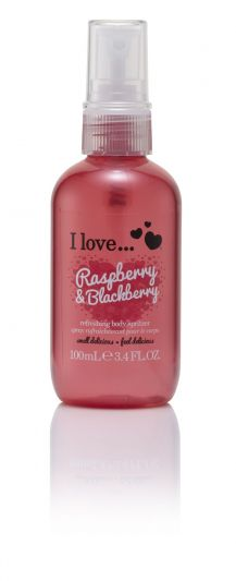 I Love...Refreshing Body Spritzer Raspberry & Blackberry 100ml