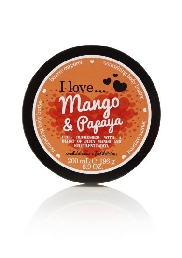 I Love...Body Butter Mango & Papaya 200ml