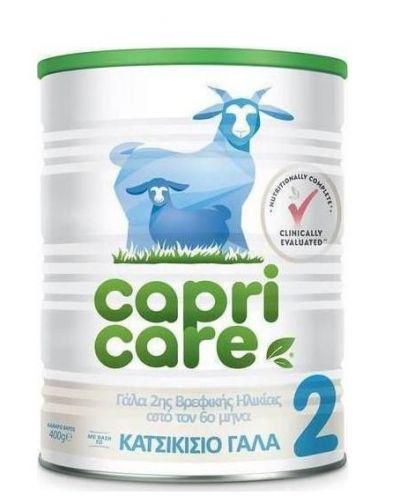 Capricare No2 Γάλα 2ης Βρεφικής Ηλικίας Με Βάση Το Κατσικίσιο Γάλα 400gr
