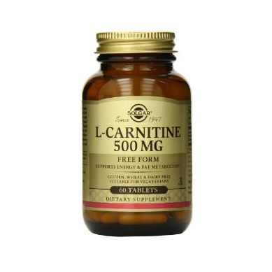 Solgar L-Carnitine 500mg 60 Ταμπλέτες