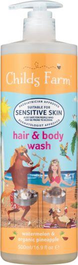 Childs Farm Hair & Body Wash Watermelon & Organic Pineapple 500ml