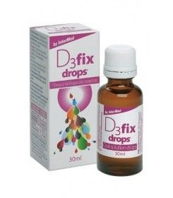INTERMED D3 Fix Drops Πόσιμο Διάλυμα Σε Σταγόνες 30ml