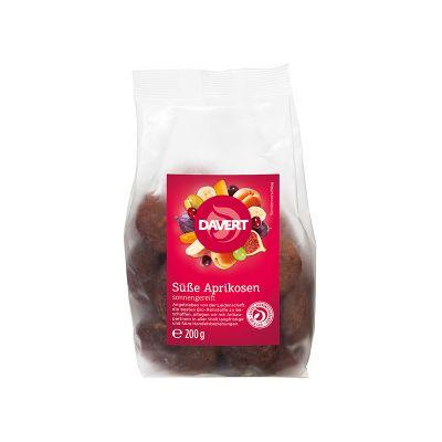 Davert Βιολογικά Γλυκά Βερίκοκα Αποξηραμένα και Απύρηνα 200g