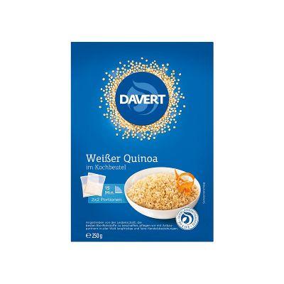 Davert Κινόα Λευκή Σακουλάκι Βρασμού 250g