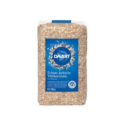 Davert Γνήσιο Ρύζι Αρμπόριο Αποφλοιωμένο 500g