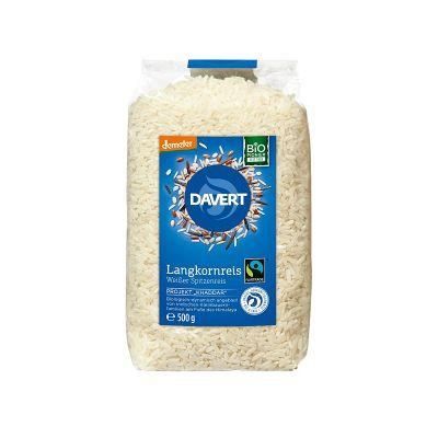 Davert Μακρύκοκκο Αποφλοιωμένο Ρύζι 500g