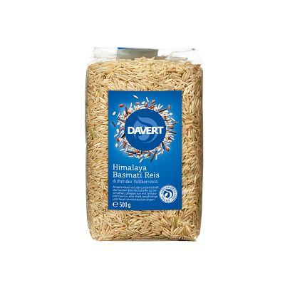 Davert Ρύζι Μπασμάτι Ιμαλαΐων  Αναποφλοίωτο 500g