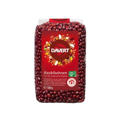 Davert Φασόλια Azuki Fairtrade 500g