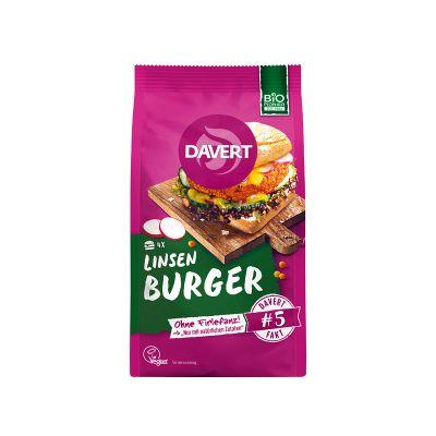Davert Lentil Burger 160g