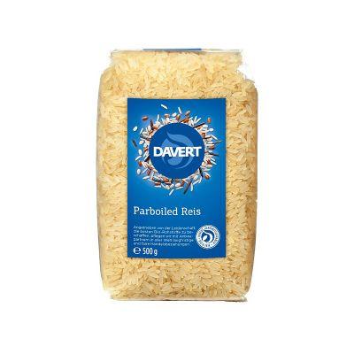 Davert Μακρύκοκκο Ρύζι Parboiled 500g