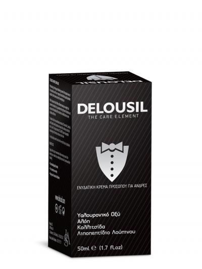 Delousil Moisturizing Face Cream for Men Ενυδατική Κρέμα Προσώπου για Άνδρες, 50ml