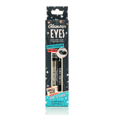 Dirty Works Glamour Eyes Dusk til Dawn Liquid Eyeshadow 2.8ml & Eyeliner 1.8g