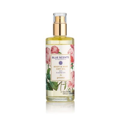 Blue Scents Body & Hair Oil Peony 100ml