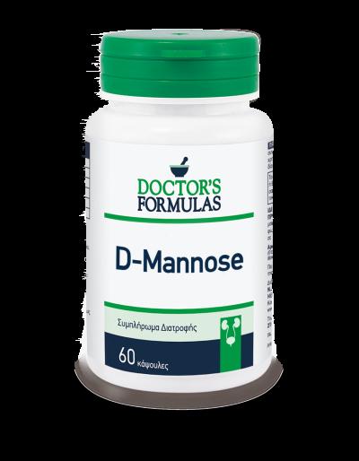 Doctor's Formula D-Mannose 60 Κάψουλες