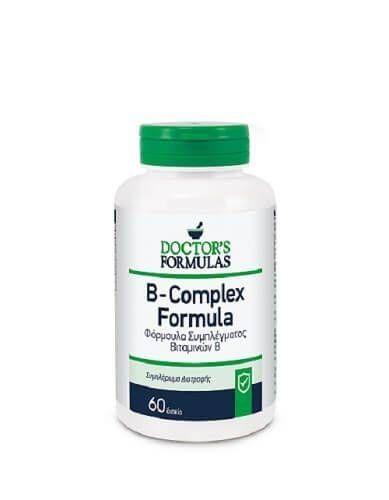 Doctor's Formulas B-Complex Formula 60 Δισκία