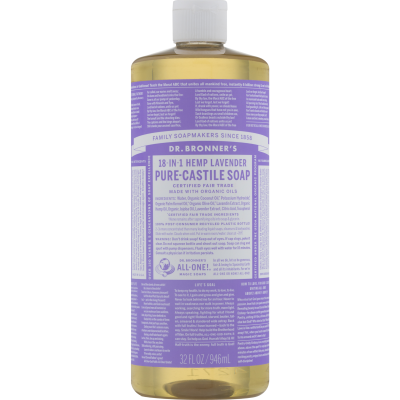 Dr.Bronner's Pure-Castile Lavender Liquid Soap 946ml