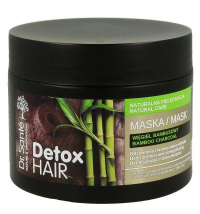 Dr.Santé Detox Hair Μάσκα για Εντατική Ανανέωση Κουρασμένων Μαλλιών 300ml