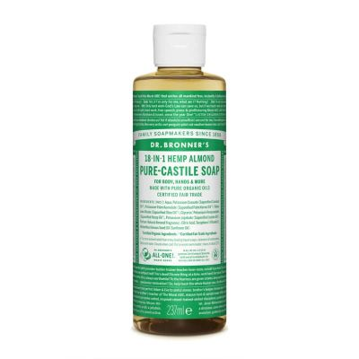 Dr.Bronner's Almond Pure-Castile Liquid Soap 237ml