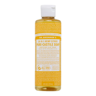 Dr.Bronner's Citrus Pure-Castile Liquid Soap 237ml