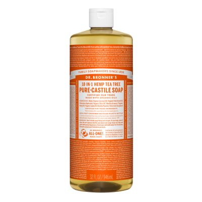 Dr.Bronner's Tea Tree Pure-Castile Liquid Soap 946ml