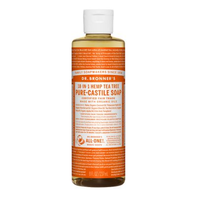 Dr.Bronner's Tea Tree Pure-Castile Liquid Soap 237ml