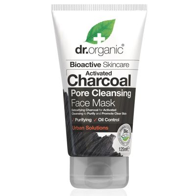 Dr.Organic Activated Charcoal Pore Cleansing Face Mask 125ml