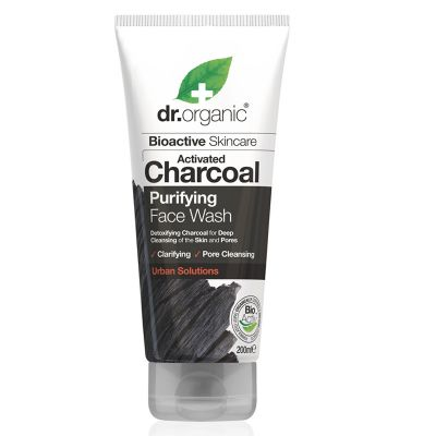 Dr.Organic Activated Charcoal Purifying Face Wash 200ml