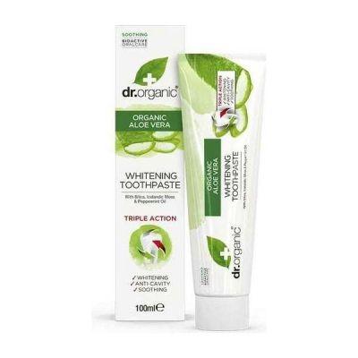 Dr.Organic Aloe Vera Toothpaste (Whitening) 100ml