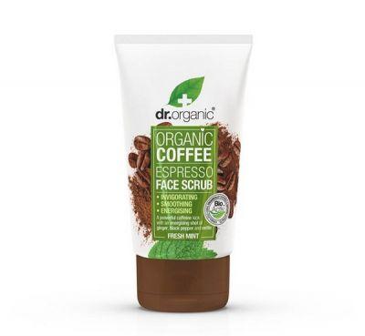 Dr.Organic Coffee Espresso Face Scrub 125ml