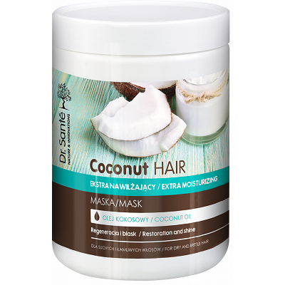 Dr.Santé Coconut Μάσκα για Εύθραυστα Μαλλιά με Ψαλίδα 1lt