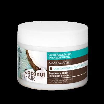 Dr.Santé Coconut Μάσκα για Εύθραυστα Μαλλιά με Ψαλίδα 300ml