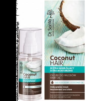 Dr.Santé Coconut Hair Oil για Εύθραυστα και Θαμπά Μαλλιά με Ψαλίδα 50ml