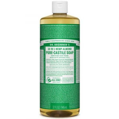 Dr.Bronner's Almond Pure-Castile Liquid Soap 946ml