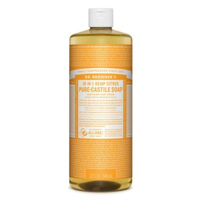 Dr.Bronner's Citrus Pure-Castile Liquid Soap 946ml