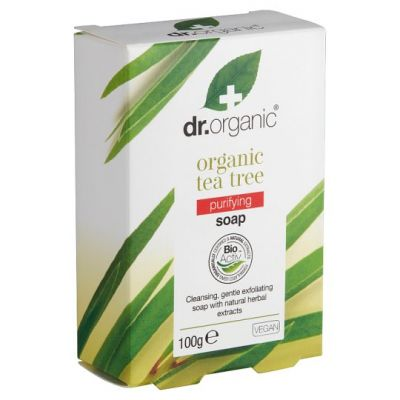 Dr.Organic Organic Tea Tree Soap 100gr