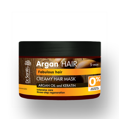 Dr.Santé Argan Μάσκα για Κατεστραμμένα Μαλλιά 300ml
