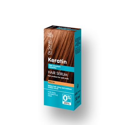 Dr.Santé Keratin Serum για Θαμπά & Εύθραυστα Μαλλιά 50ml