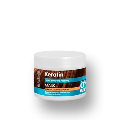 Dr.Santé Keratin Μάσκα για Θαμπά & Εύθραυστα Μαλλιά 300ml