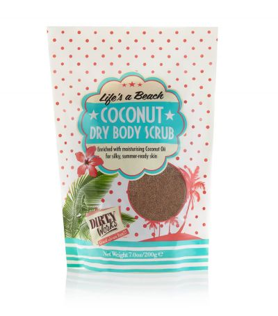 Dirty Works Coconut Dry Sugar Scrub 200gr