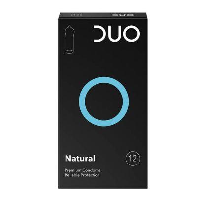 Duo Natural Προφυλακτικό Κανονικό 12 Tεμάχια