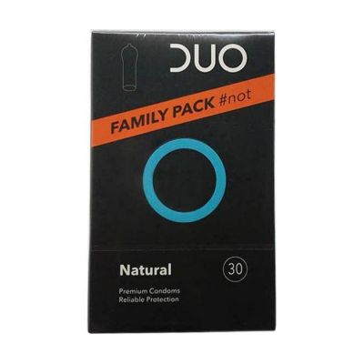 DUO Natural Family Pack Προφυλακτικά 30τμχ