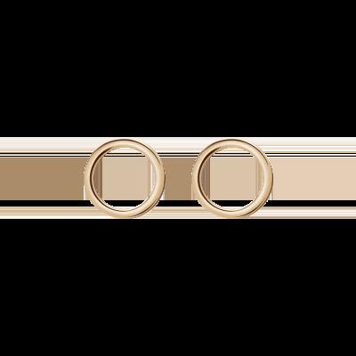 Medisei Ασημένια Σκουλαρίκια - Circular Earrings 1τμχ