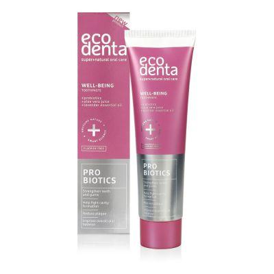 Ecodenta Οδοντόκρεμα Προστασίας με Προβιοτικά, Aloe Vera και Έλαιο Λεβάντας 100ml
