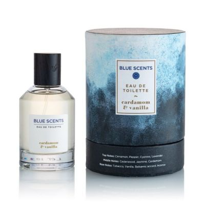Blue Scents Eau De Toilette Cardamom & Vanilla 100ml