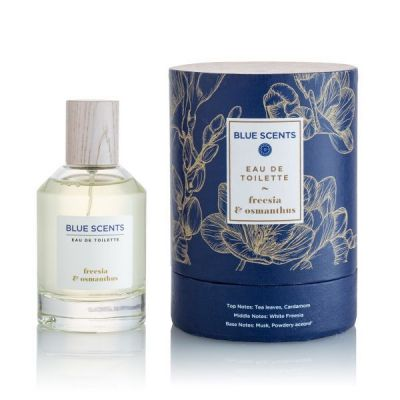 Blue Scents Eau De Toilette Freesia & Osmanthus 100ml