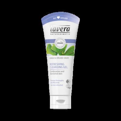Lavera Facial Care Τονωτικό Τζελ Καθαρισμού Προσώπου Με Ginkgo & Βιολογικό Σταφύλι 100ml