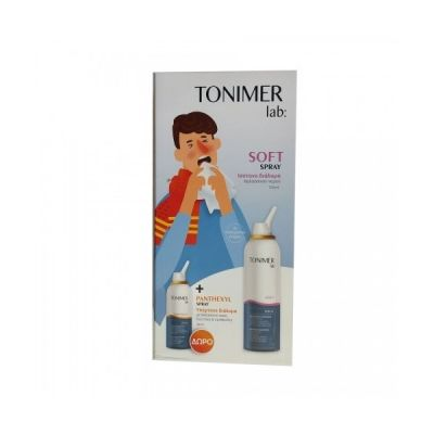 Epsilon Health Tonimer Lab: Tonimer Soft Spray 125ml & Tonimer Panthexyl 30ml