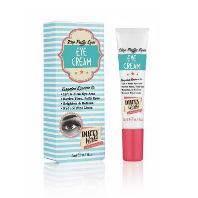Dirty Works Stop Puffy Eyes Eye Cream 15ml