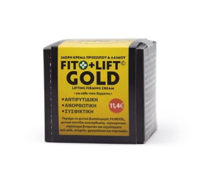 Fito+ Lift Gold 24ωρη Φυτική Κρέμα Προσώπου Με Βιοπολυμερές Filmexel 50ml