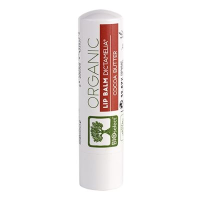 BioSelect Organics 100% Organic Lip Balm με γεύση κρέμα μπισκότο 4,4g